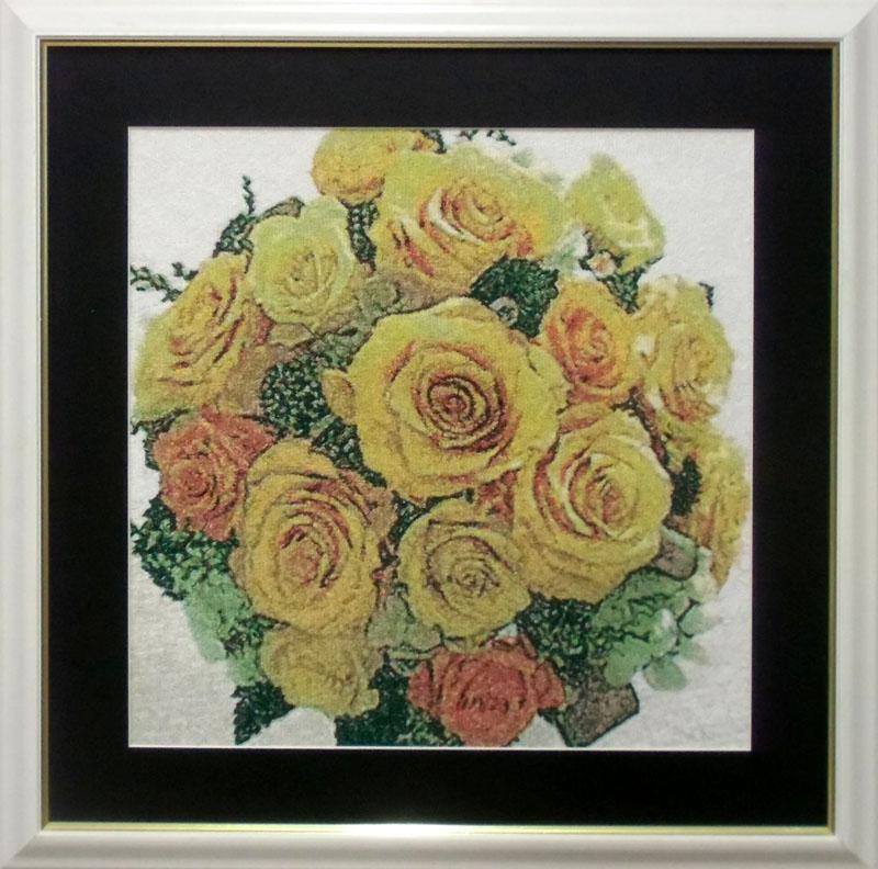 幸せの黄色い花束 2分割(ジャンボ枠使用)